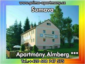 Apartmánový dům  Almberg *** - Ubytování Šumava, chalupy a chaty Šumava