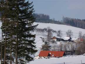 Wochenendhaus U rybníka - Ubytování Böhmerwald, chalupy a chaty Böhmerwald